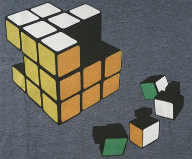 Image for Ames Bros Rubic's Cube Cheater T-Shirt