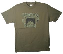 Image Closeup for Control Freak T-Shirt