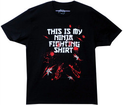 Image Closeup for This is my Ninja Fighting Shirt T-Shirt