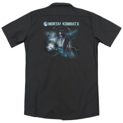 Image for Mortal Kombat Dickies Work Shirt - Raiden