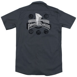 Image for Power Rangers Dickies Work Shirt - Power Coins