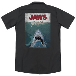 Image for Jaws Dickies Work Shirt - Lined Poster