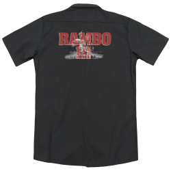 Image for Rambo Dickies Work Shirt - John Rambo