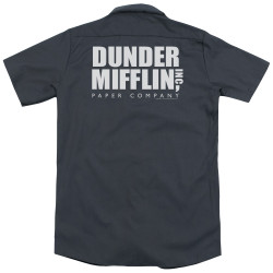 Image for The Office Dickies Work Shirt - Dunder Mifflin