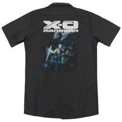Image for XO Manowar Dickies Work Shirt - By The Sword