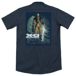 Image for XO Manowar Dickies Work Shirt - Planet Death
