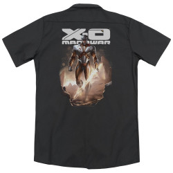 Image for XO Manowar Dickies Work Shirt - Lightning Sword