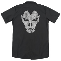 Image for Shadowman Dickies Work Shirt - Face