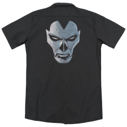 Image for Shadowman Dickies Work Shirt - Comic Face