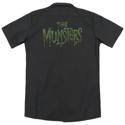 Image for Munsters Dickies Work Shirt - Distress Logo