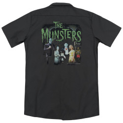 Image for Munsters Dickies Work Shirt - 1313 50 Years