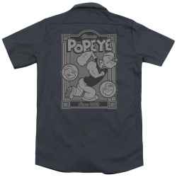 Image for Popeye Dickies Work Shirt - Classic Popeye