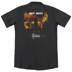 Image for Amityville Horror Dickies Work Shirt - Get Out