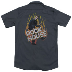 Image for House Dickies Work Shirt - Rock The House
