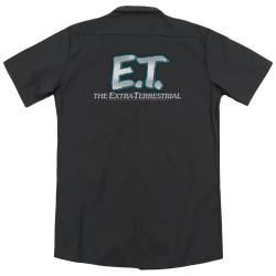 Image for Et The Extraterrestrial Dickies Work Shirt - Logo