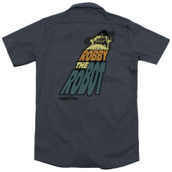 Image for Forbidden Planet Dickies Work Shirt - Robby The Robot