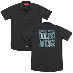 Full image for Doctor Mirage Dickies Work Shirt - Character Logo