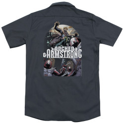 Image for Archer & Armstrong Dickies Work Shirt - Dropping In