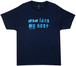 Image Closeup for Mom Likes Me Best T-Shirt