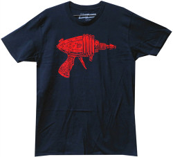 Image Closeup for Ames Bros Ray Gun T-Shirt