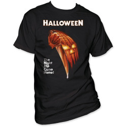 Image for Halloween the Night He Came Home T-Shirt