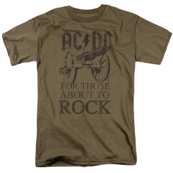 Image for AC/DC T-Shirt - For Those About to Rock