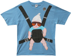 Image Closeup for The Hangover Baby Carlos Carrier T-Shirt