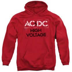Image for AC/DC Hoodie - High Voltage Stencil