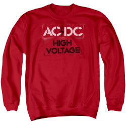 Image for AC/DC Crewneck - High Voltage Stencil