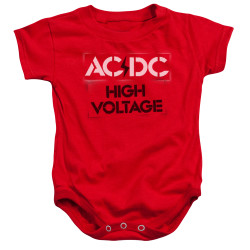 Image for AC/DC Baby Creeper - High Voltage Stencil