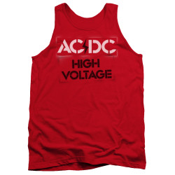 Image for AC/DC Tank Top - High Voltage Stencil