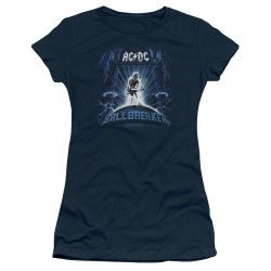 Image for AC/DC Girls T-Shirt - Ballbreaker