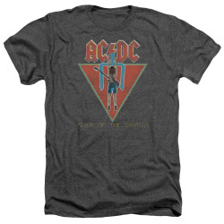 Image for AC/DC Heather T-Shirt - Flick of the Switch
