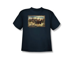 Image for The Hobbit Youth T-Shirt - Hobbit & Company