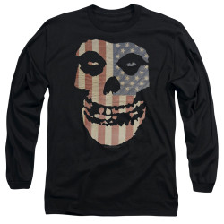 Image for The Misfits Long Sleeve Shirt - Fiend Flag