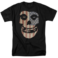 Image for The Misfits T-Shirt - Fiend Flag