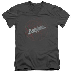 Image for Dokken V Neck T-Shirt - Break the Chains