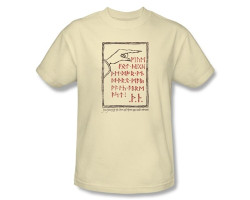 Image for The Hobbit Back Door T-Shirt