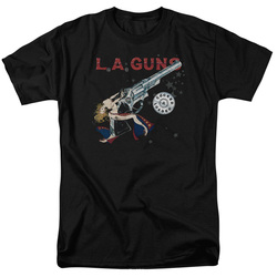 Image for LA Guns T-Shirt - Cocked and Loaded