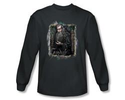 Image Closeup for The Hobbit Gandalf long sleeve T-Shirt