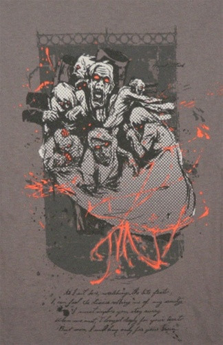 Image for Zombie T-Shirt - Heart Attack