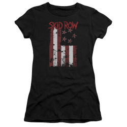 Image for Skid Row Girls T-Shirt - Flagged