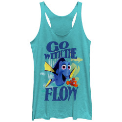 Image for Finding Dory Womens Tank Top - Flow