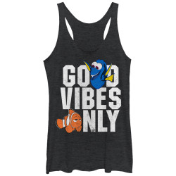 Image for Finding Dory Womens Tank Top - Good Vibes
