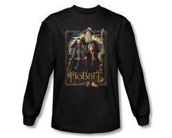 Image Closeup for The Hobbit The Three long sleeve T-Shirt