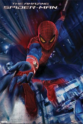 Image for The Amazing Spiderman Poster - Swing