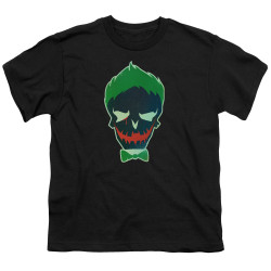 Image for Suicide Squad Youth T-Shirt - Joker Skull