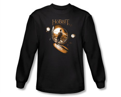 Image Closeup for The Hobbit Hole long sleeve T-Shirt