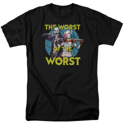 Image for Suicide Squad T-Shirt - Worst Pair