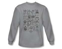 Image Closeup for The Hobbit the Company long sleeve T-Shirt